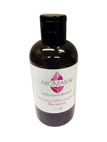 Geranio Rosa Aceite De Masaje 125ml Antiestrés