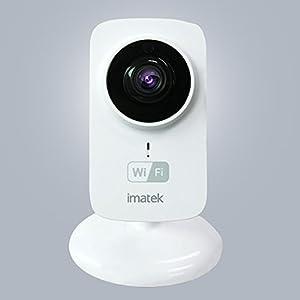 IMATEK V201, Weiß, H.264 720p-HD-Netzwerk-IP Kamera, drahtlose IP, WLAN, Infrarot Day & Night, Plug & Play, Zwei-Wege-Audio, Bewegungserkennung , Home Security-Überwachungs Kamera.