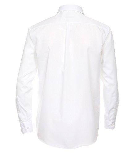 CASAMODA Herren Businesshemd Weiß - uni nah (0)
