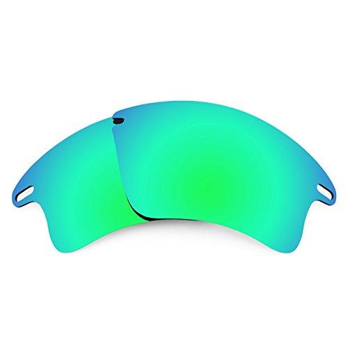 Revant Ersatzlinsen für Oakley Fast Jacket XL Emerald Grün MirrorShield®
