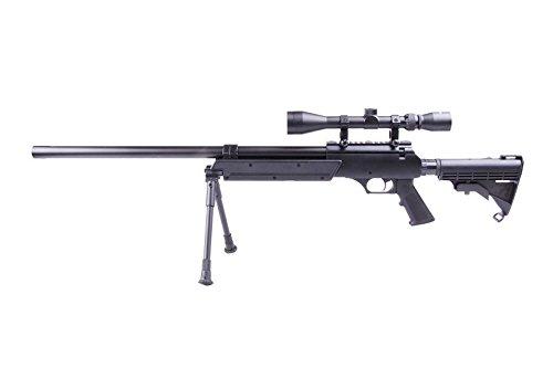 Well MB06B Sniper à Ressort/métal-ABS/Rechargement Manuel (0.5 Joule)-Livré avec Accessoires