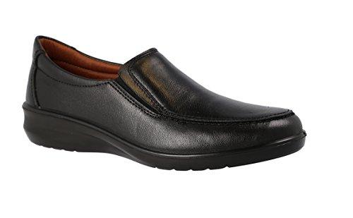 Luisetti 0302, Zapatos Trabajo Mujer, Negro 000, 38