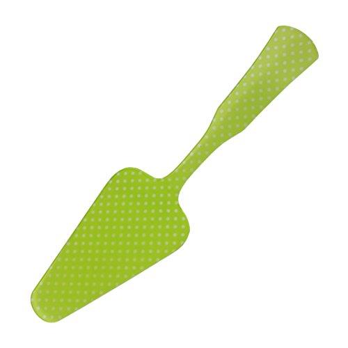 Grün und Weiß Spot Kuchen Server