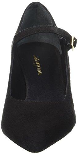 Atelier Maryjane Preto camoscio Mulheres Baixos Preto Wanda Nero Sapatos Mercadal Hw5qgt5