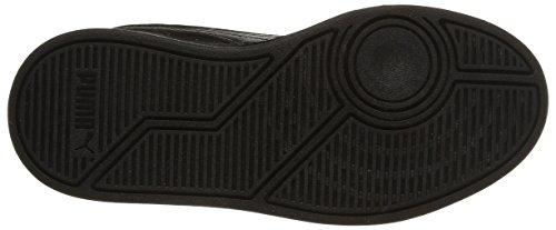 Puma Liza Mid, Sneakers Hautes fille Noir (Black/Black/Black)