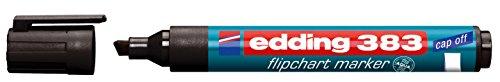 edding Flipchart-Marker 383, schwarz, 1 Stück