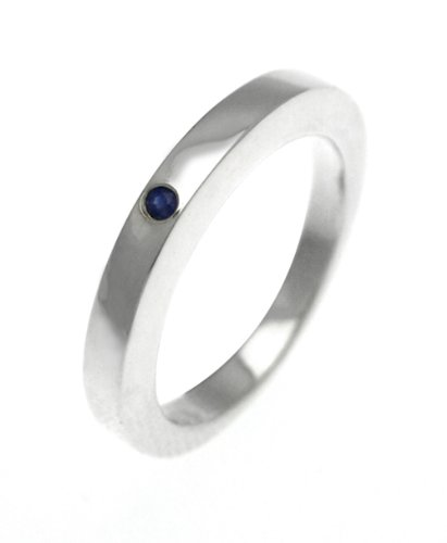 white-ice-london-silver-ring-with-sapphire-dr003-sap-plain-band-ring-with-sapphire-size-o