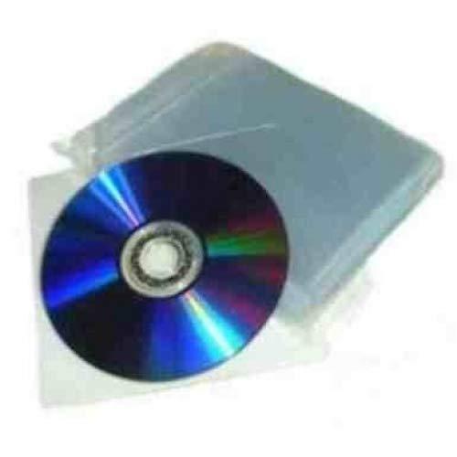 eXpress Net 200 80 micras de CD y DVD de plástico billeteras/funda...