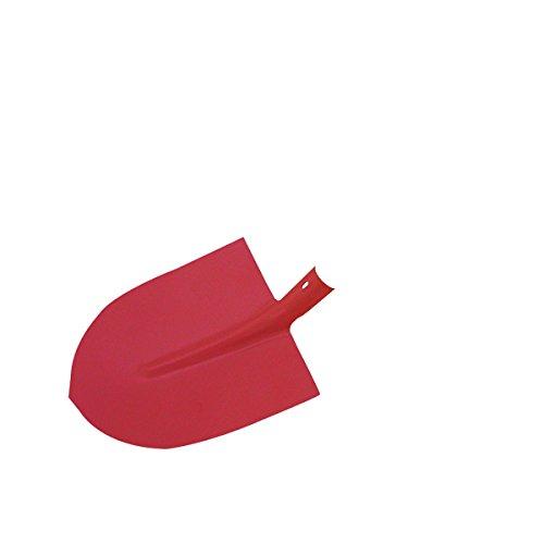 Xclou Pala de jardín sin Mango Rojo, tamaño Pala Frankfurter 2, Pala para casa, jardín, Pala de Obra...