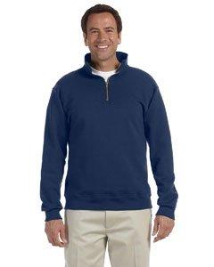 Jerzees 9,5oz Super schwitzt® 50/50Quarter-Zip Pullover Gr. Größe L, J Navy -
