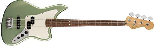 Player Jaguar Bass MN Sage Green Metallic (Jaguar Guitar Bass Fender)