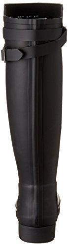 Hunter Damen W Org Tall Bt Refined B Strap Gummistiefel Schwarz (Black)