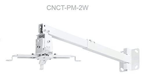 CNCT Projector Wall Mount Bracket (Only White) for LED - LCD - DLP Projectors from Sony