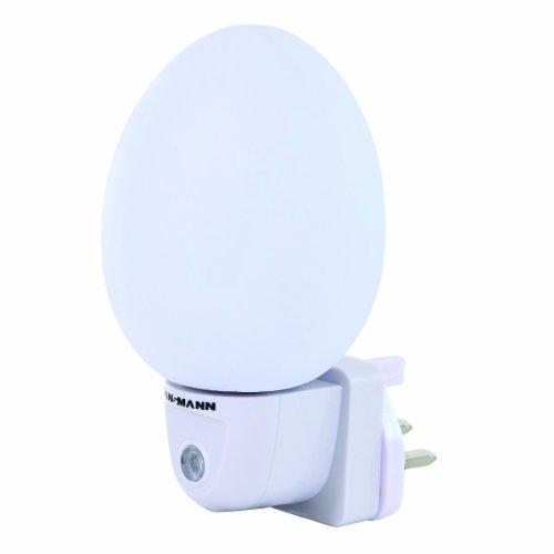 ANSMANN Nightlight - Egg Shape  Mains Plug -