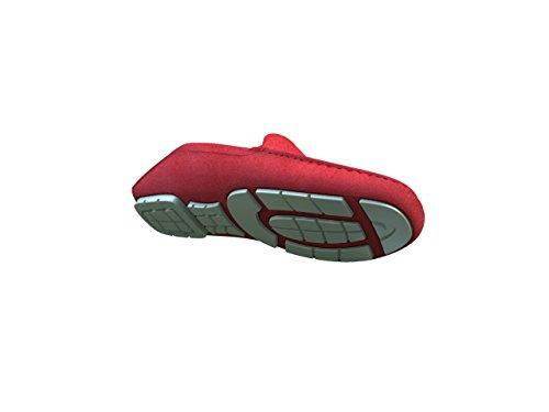Chaussures Sur Mesure - Mocassin - Homme Rouge