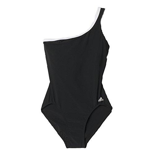 adidas Damen Badeanzug I SW 1PC Schwarz/Weiβ