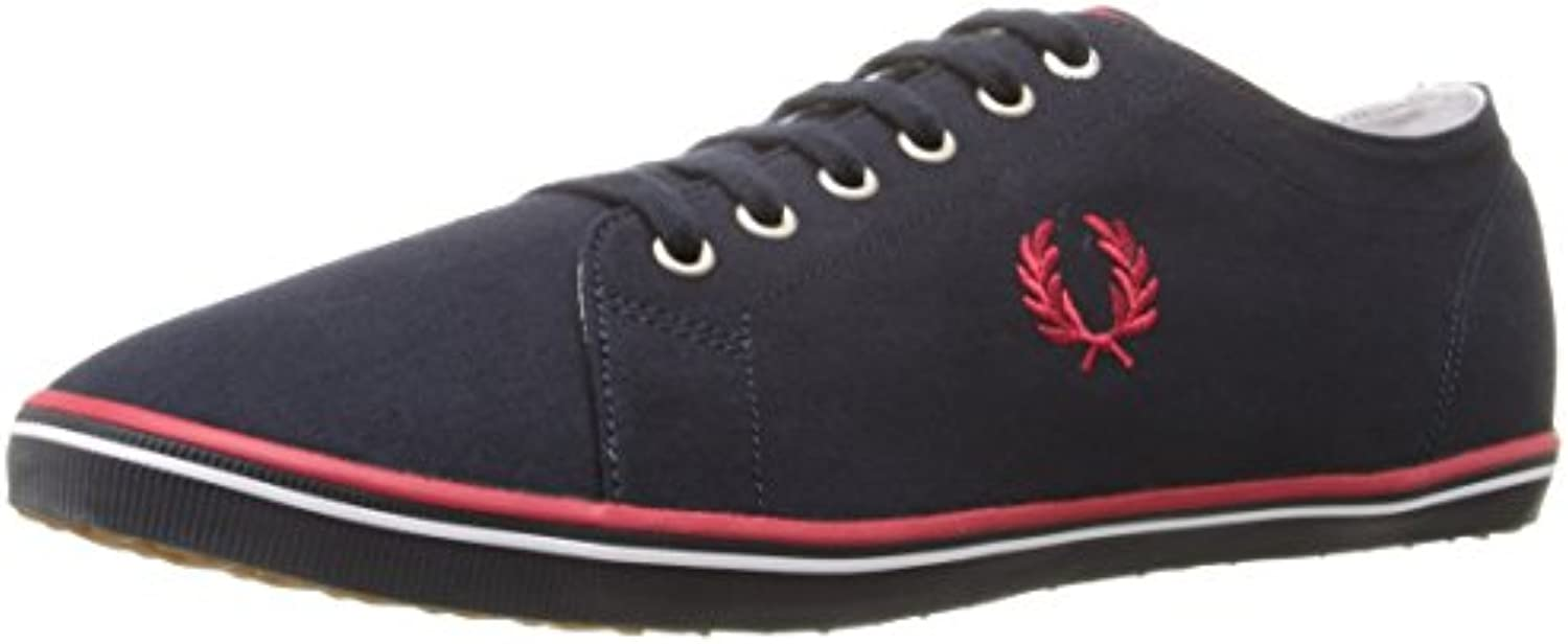 Fred Perry Herren Kingston Twill Oxfords  Blau  3 EU