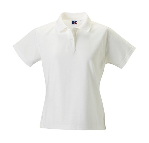 Russell Collection - Polo -  - Manches courtes Femme Blanc - White - White