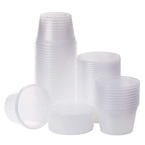 SWZY Deli-Behälter mit Deckel, mikrowellengeeigneter auslaufsicherer klarer Lebensmittelvorratsbehälter aus Kunststoff BPA-frei 500ML 20 Pack (Klare Behälter Lebensmittel Für)