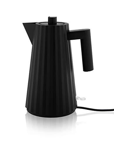 Alessi - Wasserkocher - elektrisch - Plisse\' - schwarz - 1,7 l