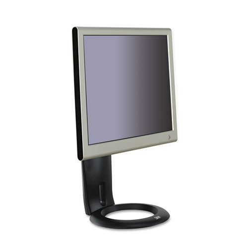 3M MS110MB Easy-Adjust Monitor Stand (Black)