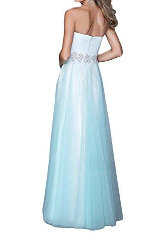 Promgirl House - Robe - Trapèze - Femme Bleu - Bleu clair