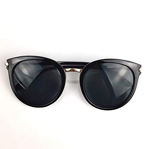 fuqiuwei Sonnenbrillen Rundes Gesicht, Kleine Sonnenbrille, Sommereinkauf, Wilde Sonnenbrille, Stilvolle Brille