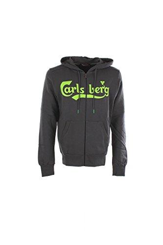 Felpa Uomo Carlsberg CBU2306 Grigio Autunno/Inverno Grigio Xl