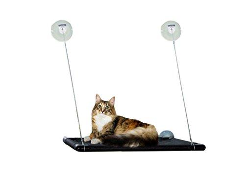 Yuncai morbido gatto letto appeso finestra montata regolabile gatto appeso amaca come immagine