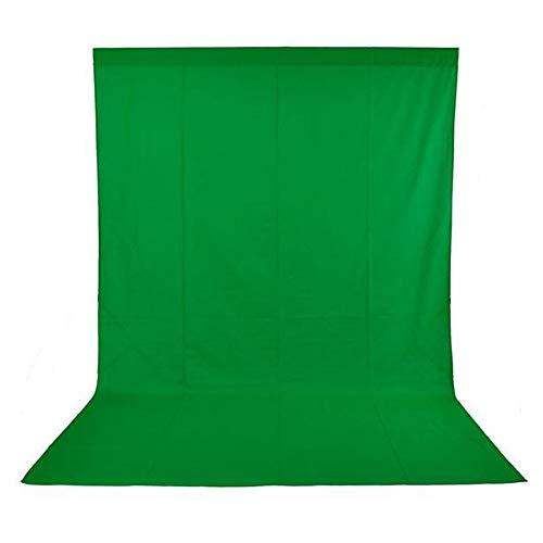 Andoer Sfondo di Studio Fotografico 1.6 x 3M Non-Tessuto 3 Colori per Opzione Verde Bianco Nero