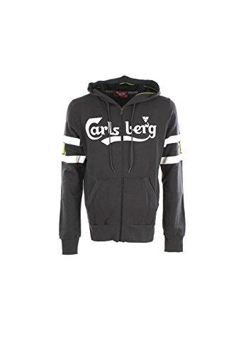 Felpa Uomo Carlsberg Xl Grigio Cbu2402 Autunno Inverno 2016/17