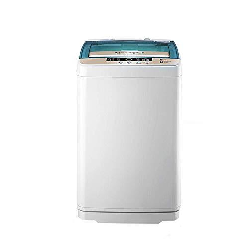 Como Tragbare Mini-Einzelwannenwaschmaschine - Kompaktes 2-IN-1-Design 4,5 kg Kapazität Vollautomatische Waschmaschine, Edelstahl-Innenrohr, LED-Digitalanzeige