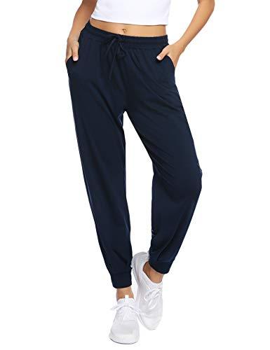 Aibrou Jogginghose Damen Sports Hose Freizeithose High Waist Sports Pants Trainingshose für Fitness, Running, Yoga, Wandern, Gym, Tanzen