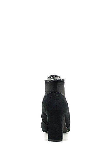 Tronchetti a punta CafèNoir per donna in camoscio blu I16.010 NERO
