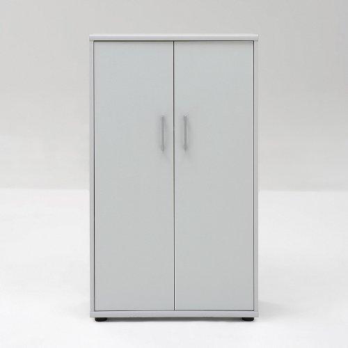 Schrank grau - Aktenschrank Serie 200 grau
