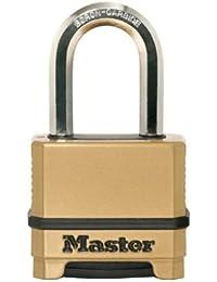 Master Lock M175X Dlfccsen Magnum 5,1cm réinitialisable Cadenas à combinaison–quantité 6