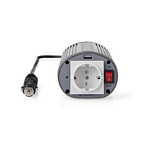TronicXL Profi Wechselrichter 12V 230V 150W + USB Port Lade Buchse Spannungswandler Zigarettenanzünder Steckdose Adapter Konverter Converter Strom für KFZ Auto umwandeln modifizierte Sinuswelle