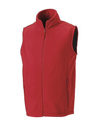 Russell con Zip the Thoroughbred Gilet termico Rosso (Classic red)