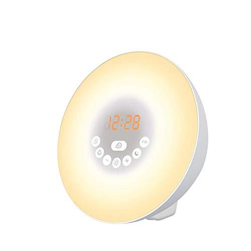 Adminitto88 - Altavoces inalámbricos Bluetooth lámpara
