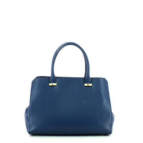 Trussardi 75b491xx53, Borsa a Mano Donna, 37 x 27 x 19 cm (W x H x L) Blue