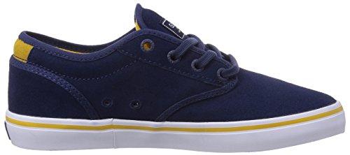 Globe Motley, Chaussures de skateboard homme Bleu (13197 Blue/Gold)