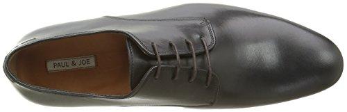 PAUL & JOE Grey, Chaussures Lacées Homme Noir (Veau Lisse Noir)