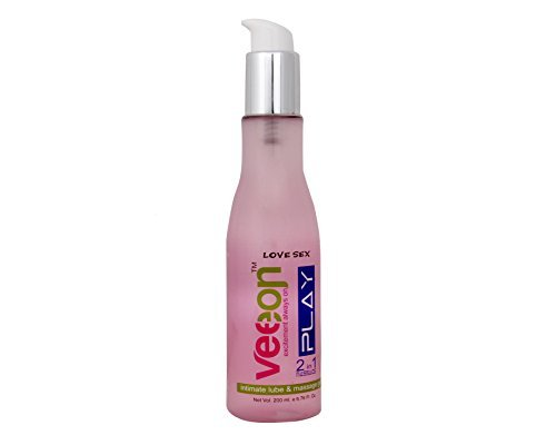 Veeon Unisex Water Based 2 In 1 Intimate Lube & Massage Gel (200Ml)