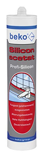 BEKO 22501 Silicon acetat 310 ml TRANSPARENT