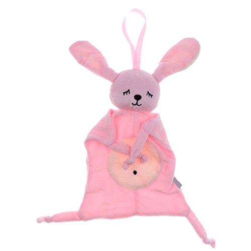 Baoblaze Baby Greifling Kuscheltuch Schnuffeltuch Schmusetuch Schmusetier Greifspielzeug Schmusetücher zum kuscheln und einschlafen - Stil 1-Häschen