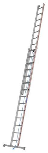HYMER 405128 Seilzugleiter zweiteilig, 2x14 Sprossen