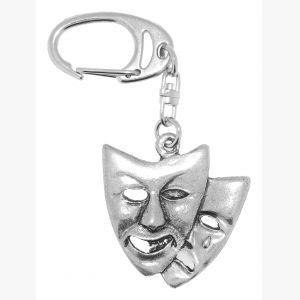 Schlüsselanhänger Theater Masken ()
