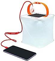 LuminAID Packlite Max - Linterna con Cargador para Móvil 2 en 1 - Ideal para hacer Camping, Kits de Viaje y Em