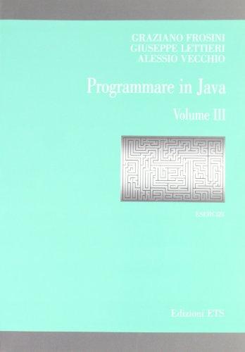 Programmare in Java. Esercizi: 3
