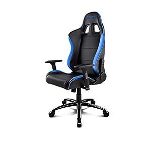 Drift DR200BL – Silla Gaming Profesional, (Polipiel Alta Calidad, Ergonómica), Color Negro/Azul